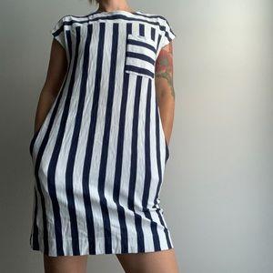Nautical feeling Madewell dress